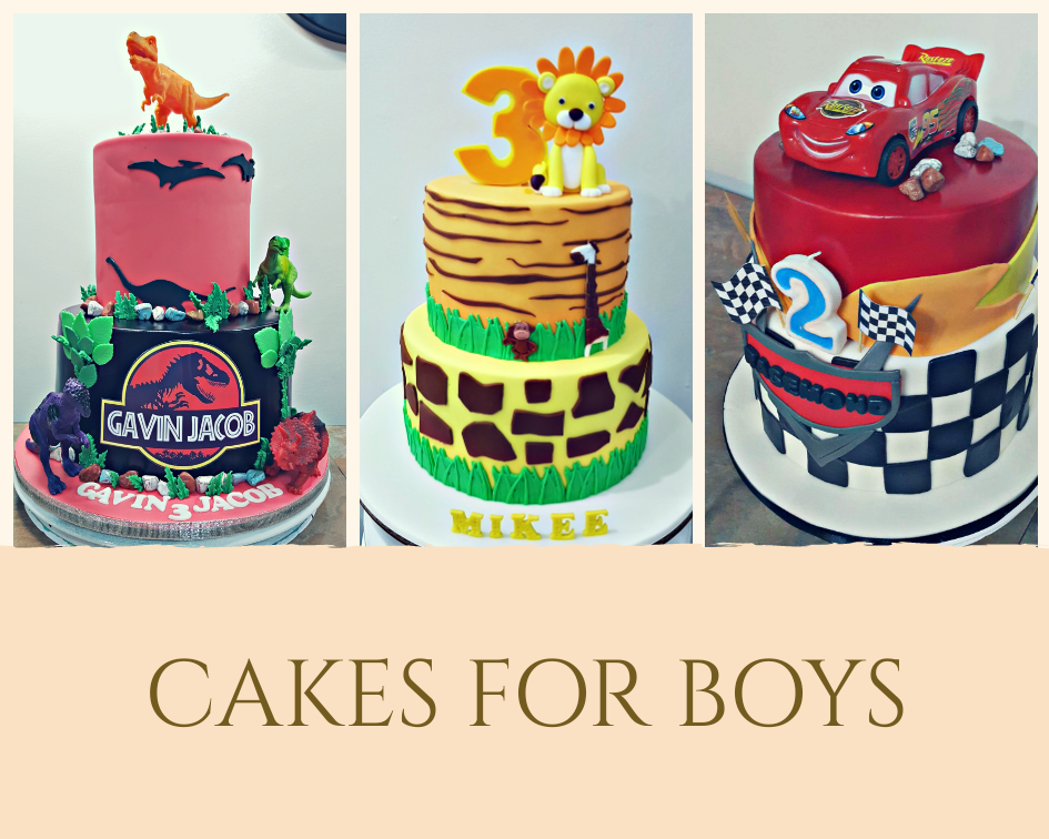cakes for boys