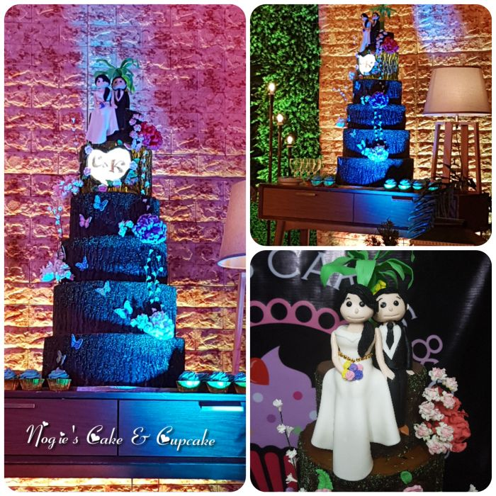 Into The Woods Themed Wedding Cake Nogies Cake And Cupcake